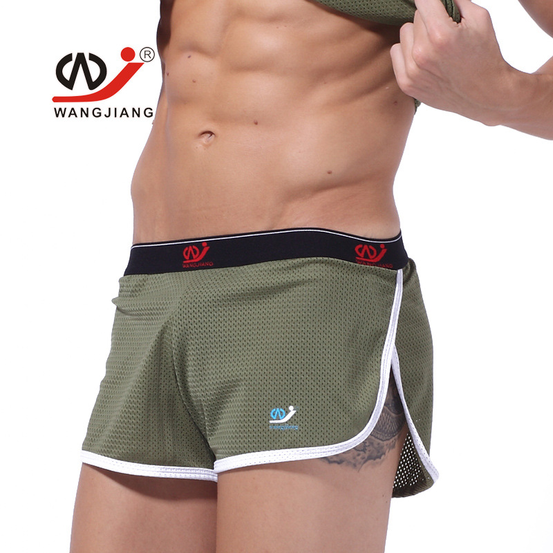Mens Breathable Mesh Polyester   Board     Shorts   Quick Drying Health Materials Casual Beach   Shorts   Boxers Arrow   Shorts