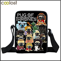 571b652c78c1 Funny Puppy Dog Cosplay Pug War   The Walking Pugs   Stranger Pug Backpack  For Teenager Girls Boys Children School Bags Backpack. 6. 2 3 2017052473 ...