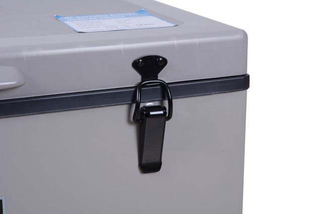 Livraison gratuite en indonésie 45L voiture réfrigérateur Portable maison énergie solaire réfrigérateur Camping congélateur compresseur
