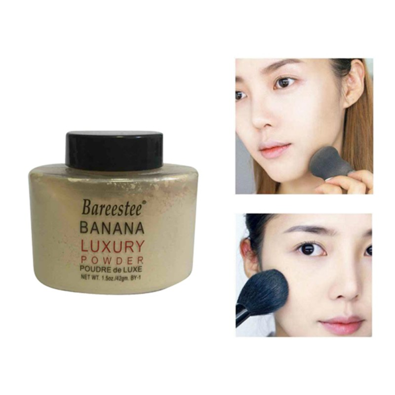 Women Makeup Loose Banana Powder Bottle Authentic Luxury For Face Foundation Beauty Makeup M2 image