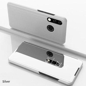 Θήκη καθρέπτης Flip Stand για τηλέφωνα Huawei Προστασία Κινητών Gadgets MSOW