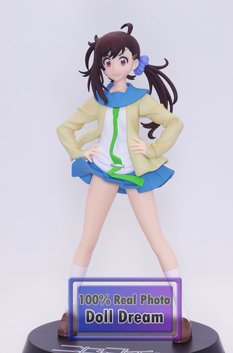 1pcs 1/8 Japanese original anime figure Nisekoi Onodera Haru action figure collectible model toys for boys zxz 23cm anime nisekoi kirisaki chitoge 1 8 cute sexy girl pvc figure toys action figure toys collectible model gifts