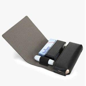 Image 2 - Jinxingcheng Fashion Flip Leather Case Voor Iqos 3.0 Case Wallet Case Voor Iqos 3 Portemonnee Bag Holder Box