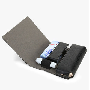 Image 2 - Jinxingcheng moda flip caso de couro para iqos 3.0 caso carteira caso para iqos 3 carteira bolsa saco titular caixa
