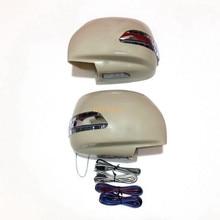 LED Rückspiegel Lichter + Abdeckung, Blinker + DRL + Grundlampe Fall für Toyota Land Cruiser Cygnus und Lexus LX470 1998 ~ 06