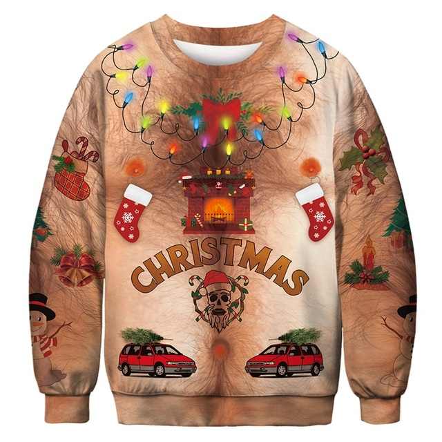 AA30005 Mens ugly christmas sweater 5c64c1130a218