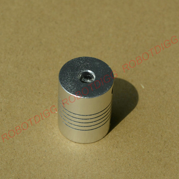 Flexible Coupling 5mm Shaft to 5mm Screw