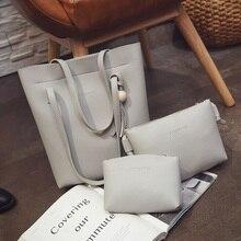 Handbags Tote+Clutch Bag