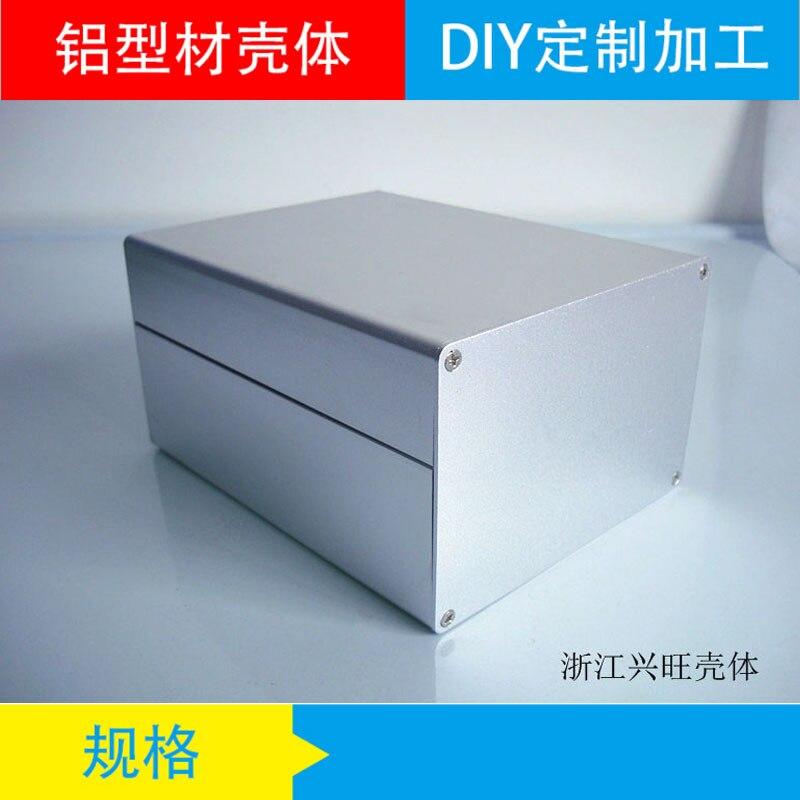 1pc Black Aluminium Enclosure Case  Electronic Project Box 120x103x168mm