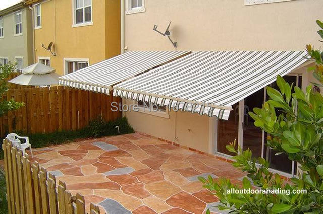 Retractable Waterproof Tent Aluminum Awning The Balcony Folding Canopy  Sheds The Rain Materials Wholesale 3 *