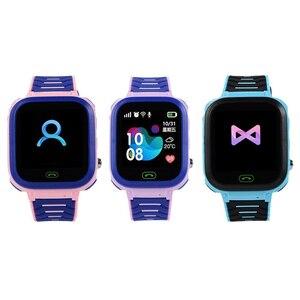 Children Smart Watch T18 Button version Kids GPRS Smartwatch Smart Wristwatch Anti-lost Call Positioning Multifunctional