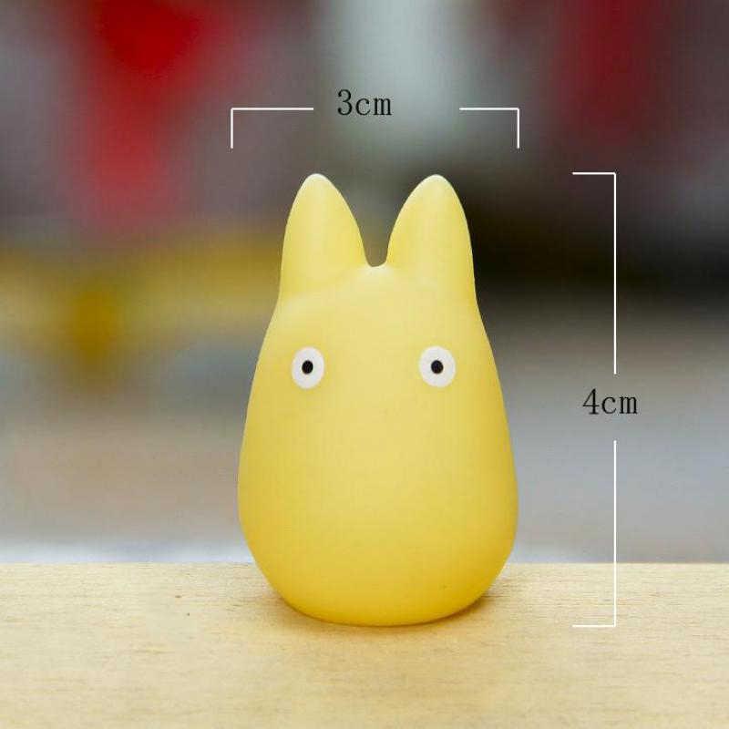 1pcs Totoro Xiaomei Puppet  Miniature Gift Kawaii Cartoon Animal Kids Toys Terrarium Figurines Desktop Decoration Doll Accessori
