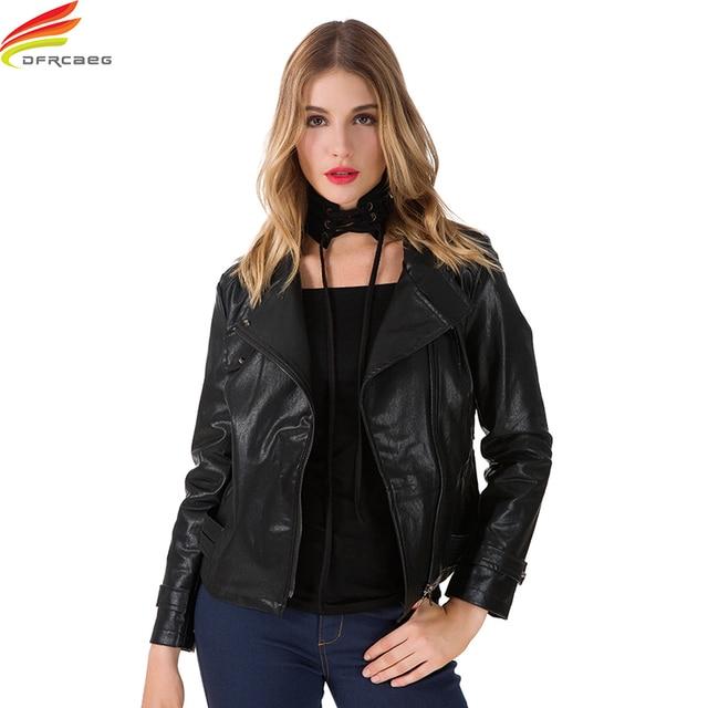 Leather Jacket 2018 Woman Winter Warm Coat Hooded Oversized Bomber Jackets Long Sleeve Euro Fashion Short Coat Blouson Femme
