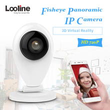 Wifi Camera Panoramic Fisheye 3D VR Video Surveillance Mini CCTV Security Camera Looline Motion Detection Wireless Camera IP