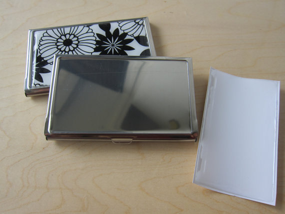 Wholesale 500pcs Lot Blank Business Card Holders With Resin