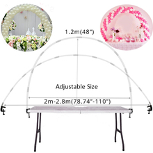 38pcs Adjustable Tabletop Balloon Arch Kits DIY Birthday Party Wedding Decoration Balloons Stand Frame Easter Party Decor Supply