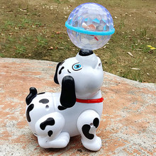 New Baby Kids Electric Toy Dog Children Electronic Music Light Pet Intelligence Walk Dance Robot Funny Puppy Toys Kids Baby Gift(China)