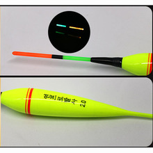 Hot Sale 1pcs Hard Fish Bobber With Led Light Ocean Rock Fshing Fishing Float Battery Pesca