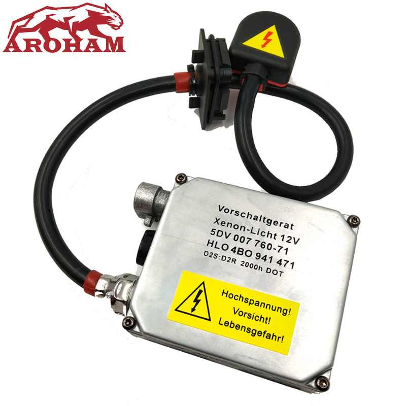 Aroham Best Quality For Audi A6 C5 OEM Xenon Headlamps Ballast Unit 5DV 007 760 71