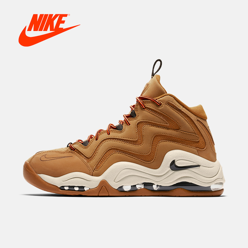 Intersport Original New Arrival Authentic NIKE AIR PIPPEN mens basketball shoes sneakers 325001  Sport Outdoor Comfortable original li ning men professional basketball shoes