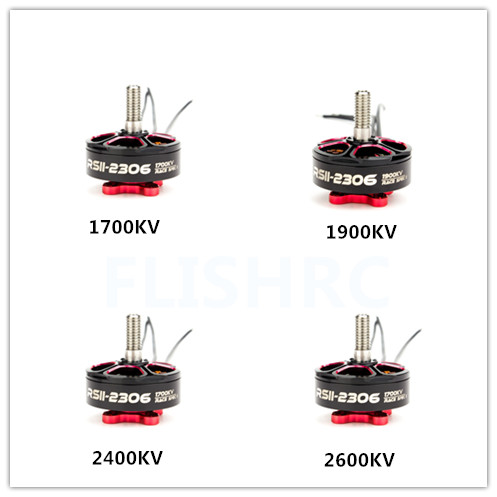Emax RSII 2306 Motor Race Spec 2CW 2CCW 1600KV 1700KV 1900KV 2400KV 2600KV Brushless 3-6S for FPV Racer Drone Quadcopter 4pcs emax mt2206 1900kv brushless motor for dron drone qav250 quadrocopter quadcopter qav300 fpv racing quadcopter 2cw 2ccw fpv