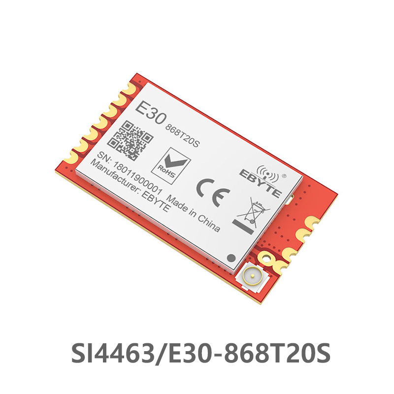 SI4463 868MHz Ebyte Rf Module 868 MHz E30-868T20S Wireless Transceiver 20dBm SMD Rf Receiver Transmitter Wireless Serial Port