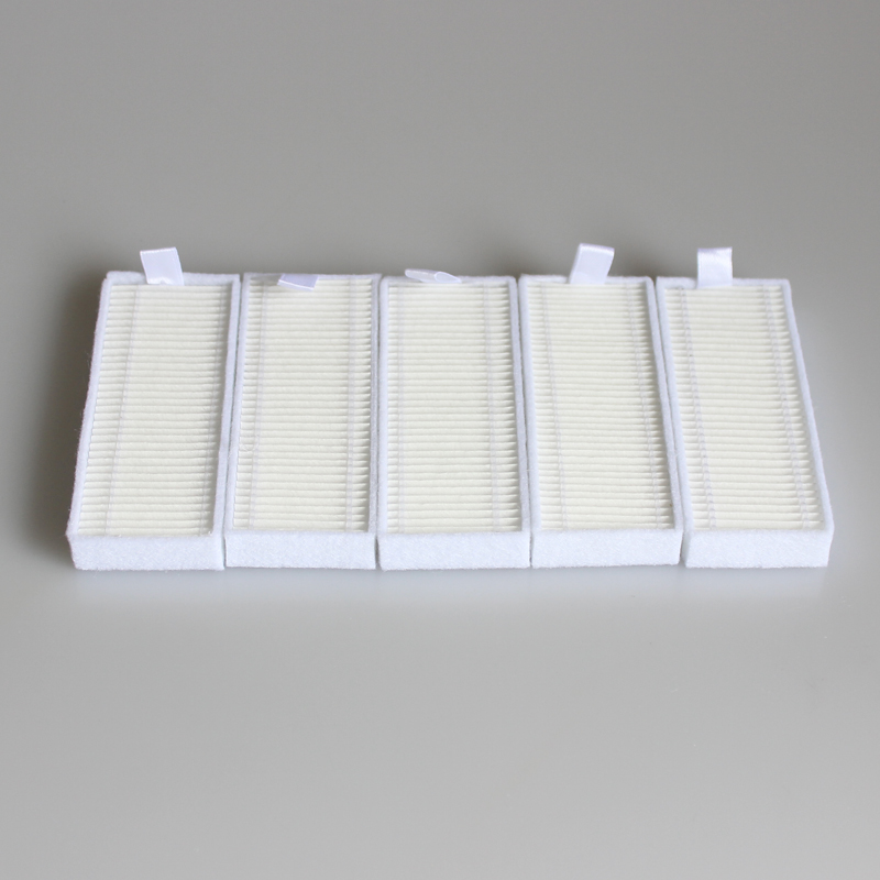 5 pieces Robot HEPA filter for iBoto Aqua V710 Robotic Vacuum Cleaner Parts 10pcs replacement hepa dust filter for neato botvac 70e 75 80 85 d5 series robotic vacuum cleaners robot parts