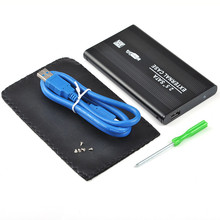 Sata3.0 to USB 3.0 HDD Case Tool Free 2.5 HDD Enclosure for Notebook Desktop PC hard disk Box (Not including HDD)