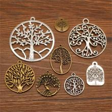 3 Piece Mix Charms Tree Of Life Pendant For Jewelry Making Diy Craft Supplies Charm
