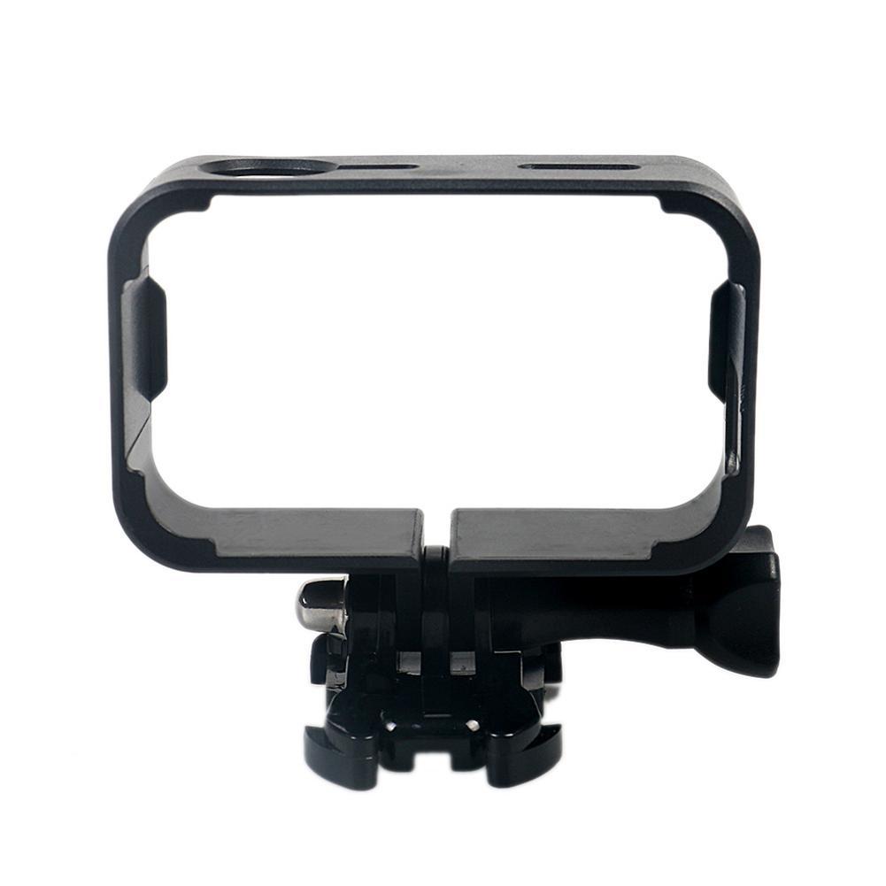 Image 3 - Защитный рамочный кронштейн Fo 4 K мини Экшн камера с креплением база длинный винт черный Быстрая доставка-in Чехлы для спортивных видеокамер from Бытовая электроника