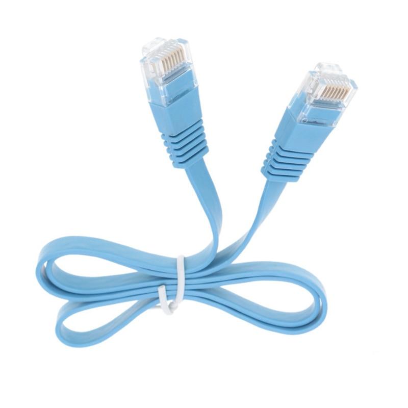 Câble Ethernet p1 plat Cat6 réseau Gigabit Lan Patch routeur câble pour Pc ordinateur portable commutateur Modem Ps3 Ps4