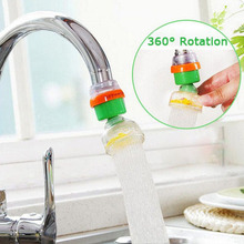 360 Rotation Mini Kitchen Househould Active Carbon Water Filter Tap Purifier Faucet Filtration Cartridge