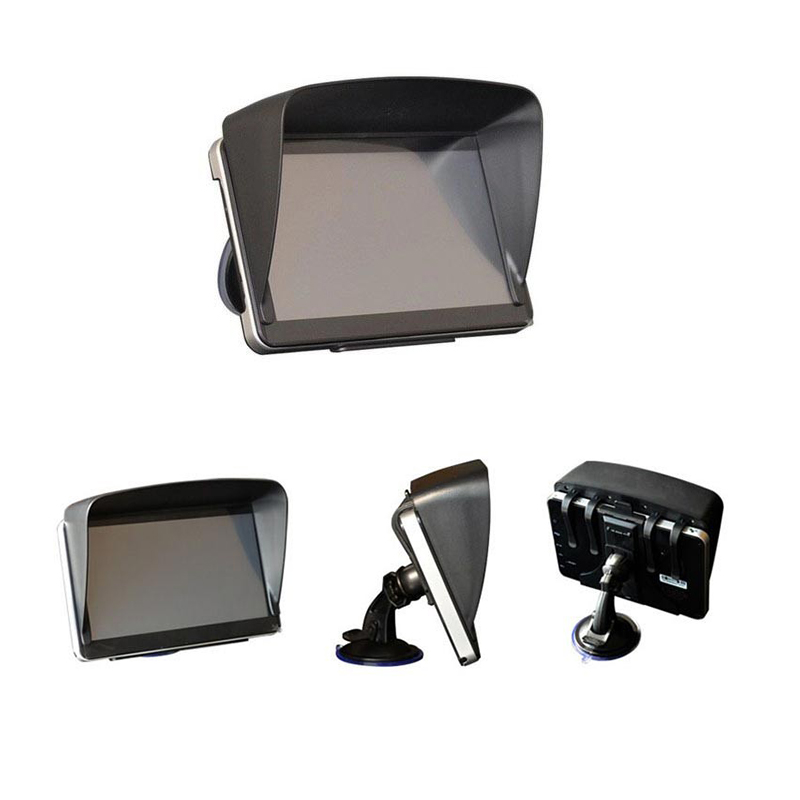 GPS Navigation Accessories 7 Inch GPS Universal Sunshade Sunshine Sun Shade Visor AntiGlare 1