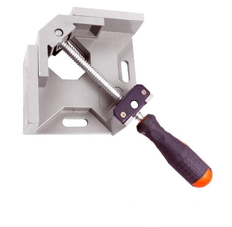 ᗑ】Aluminio 90 ángulo carpeta carpintería marco carpeta clip ...