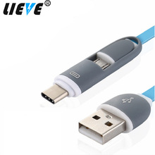1M USB Type C Micro USB Cable line for Xiaomi Redmi Mi5/Mi5s/Plus/Mi/A1/Max 2 for USB-C Charging EU Wall Phone Charger Adapter