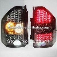 Для MITSUBISHI Montero Pajero V73 светодиодные задние фонари 2000 08 год все черный Цвет