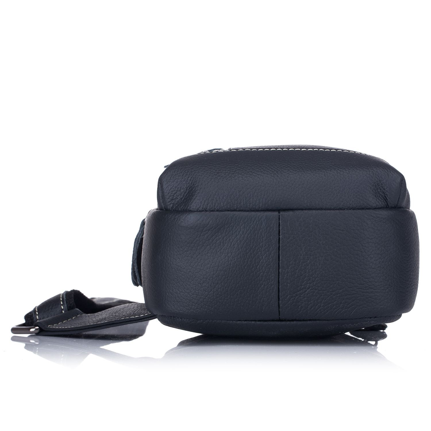 626c3b82be Men s Sling Bag Genuine Leather Chest Shoulder Backpack Cross Body Purse  Water Resistant Anti Theft For Travel School on Aliexpress.com