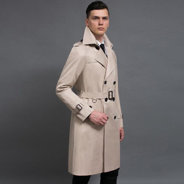 Long Coats Men Casual...
