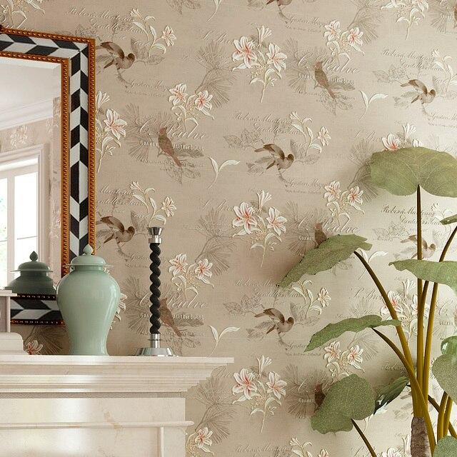 Aliexpress.com : Buy American Style Rustic Wallpaper Non ...