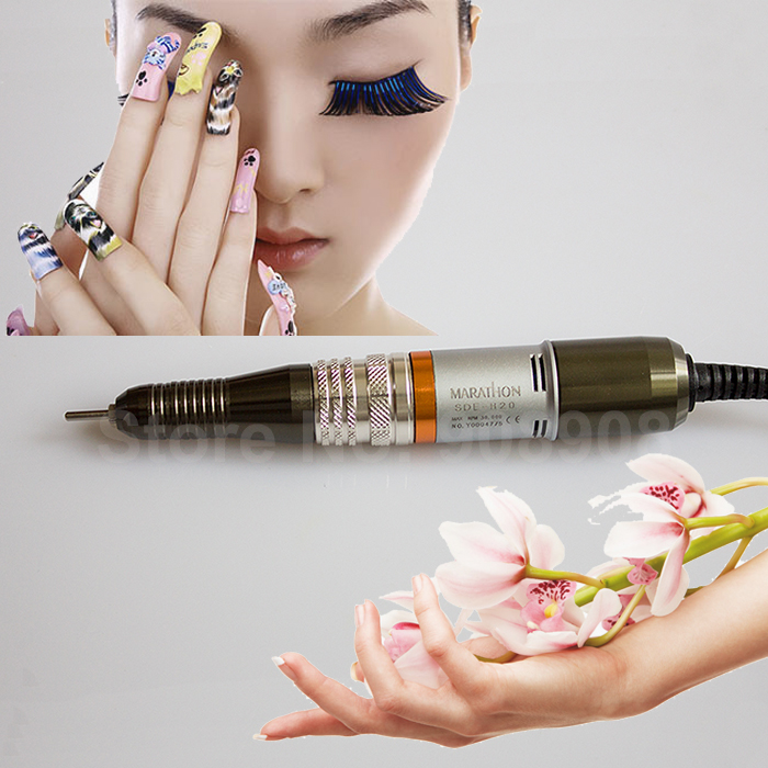 купить Original Korea Saeyang New 30000rpm Lab Electric Micromotor Marathon Brush Motor Handpiece H20 Nail Art Drill Tool Only онлайн