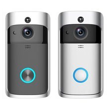 Smart WiFi Video Doorbell Camera Visual Intercom with Chime Night vision IP Door Bell Wireless Home Security Camera miland стаканы бумажные футбольный матч 6 шт