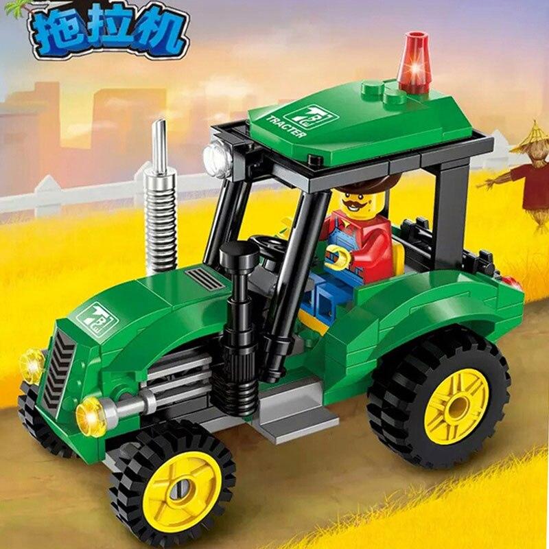 Online kaufen großhandel lego traktor aus china