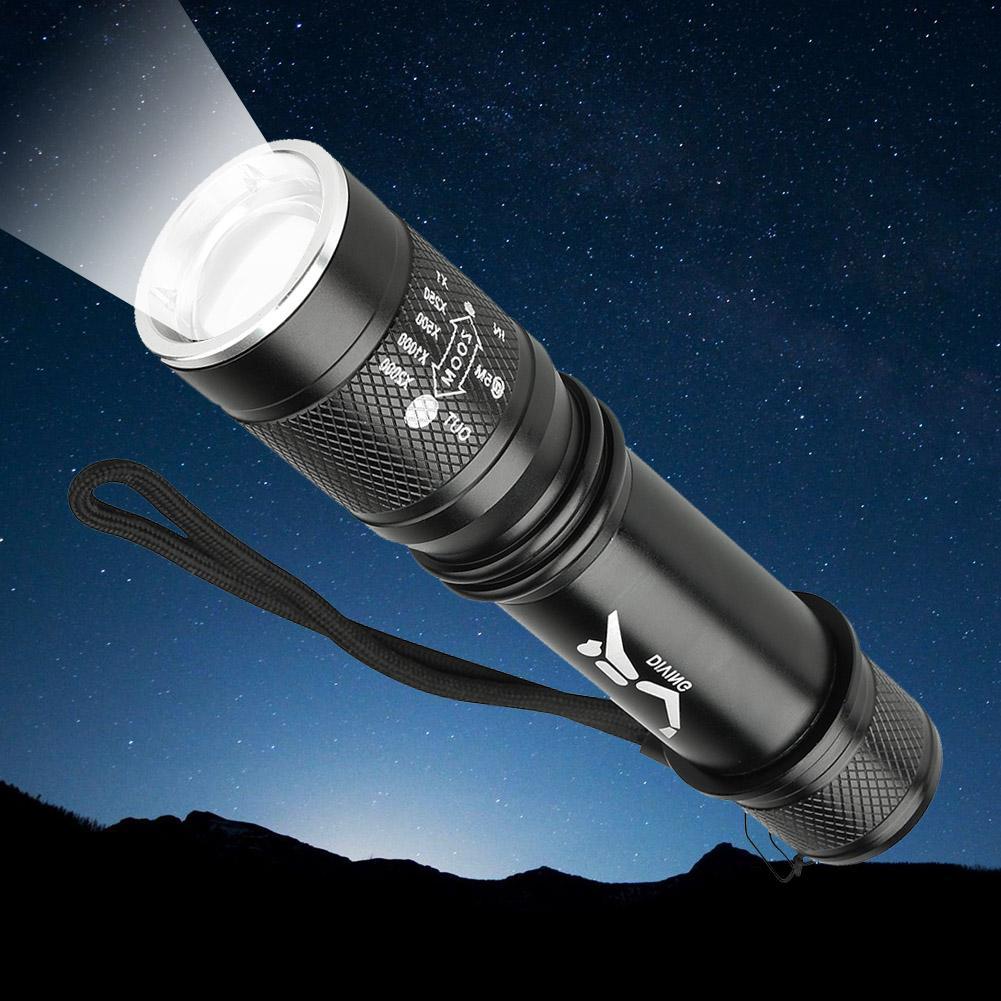 SKYWOLFEYE T6 светодиодный фонарик Увеличить Водонепроницаемый факел 3000Lm 3 режима яркий Водонепроницаемый светодиодный фонарик