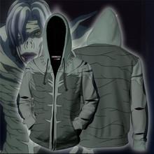 Kostiumy do przebierania od Hakuouki Anime Death Note bluza z kapturem bluza męska bluzy z kapturem męskie bluzy męskie ubrania Yagami lekkie kurtki topy tanie tanio Mężczyźni Pełna STANDARD zipper REGULAR Hip Hop Poliester NONE Reemonde Yagami Light Death Note cosplay costumes MisaMisa