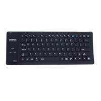 No Typing Noise Flexible Silicone Bluetooth Keyboard Wireless Keyboard
