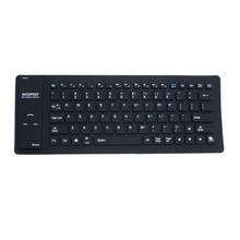 No Typing Noise Flexible Silicone Bluetooth Keyboard Wireless Keyboard