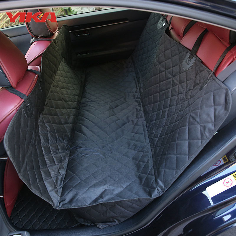 Car Waterproof Automobiles Seat Covers Automobile Back Cushion Vehicle The Dog Mat Go Out Back Row Car Mats Vehicle Pets Hammock pets go