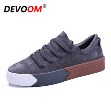 DEVOOM Men's Casual Flats Superstar Shoes Top Quality 2017 New Fashion Shoes For Mens Creepers Canvas Chaussure Homme Rihanna