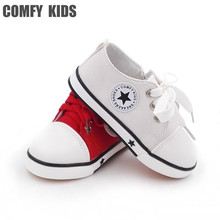 COMFY KIDS Anti slip sole child sneakers shoes soft bottom baby toddler shoes boys girls sneakers  child canvas boy girl