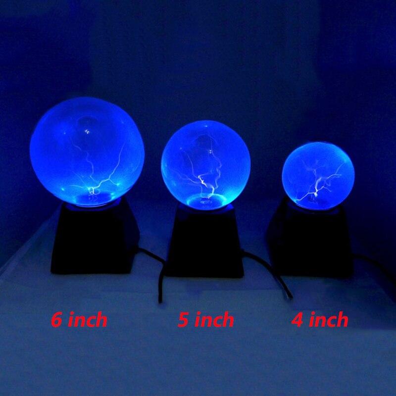 4 6 Polegada plasma bola lâmpada luz